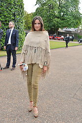 ASTRID MUNOZ at The Ralph Lauren & Vogue Wimbledon Summer Cocktail Party at The Orangery, Kensington Palace, London on 22nd June 2015.  The event is to celebrate ten years of Ralph Lauren as official outfitter to the Championships, Wimbledon.