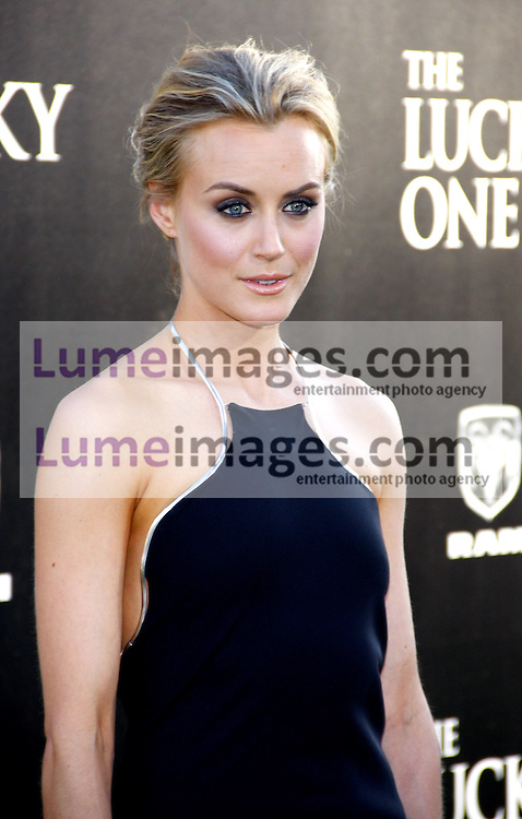 UNITED STATES, HOLLYWOOD, APRIL 16, 2012: Taylor Schilling at the Los Angeles premiere of 'The Lucky One' held at the Grauman's Chinese Theater in Hollywood, USA on April 16, 2012.