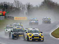 #19 Jordan COLLARD MINI JCW  during MINI Challenge – JCW  as part of the British GT and BRDC British F3 Championship at Oulton Park, Little Budworth, Cheshire, United Kingdom. April 02 2018. World Copyright Peter Taylor/PSP.