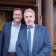 NLD/Amsterdam/20150511 - Jon van Eerd en Ton Fieren vieren hun 35jarig partnerschap, Andre van Duin en partner Martin Elferink