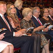 NLD/Amsterdam/20150926 - Afsluiting viering 200 jaar Koninkrijk der Nederlanden, Maxima, Willem-Alexander, Beatrix