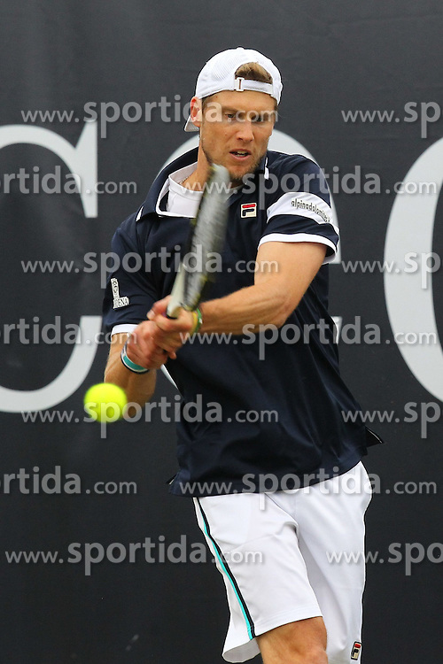 09.06.2015, Tennis Club Weissenhof, Stuttgart, GER, ATP Tour, Mercedes Cup Stuttgart, im Bild Andreas Seppi ( ITA ) // during the Mercedes Cup of ATP world Tour at the Tennis Club Weissenhof in Stuttgart, Germany on 2015/06/09. EXPA Pictures &copy; 2015, PhotoCredit: EXPA/ Eibner-Pressefoto/ Langer<br /> <br /> *****ATTENTION - OUT of GER*****