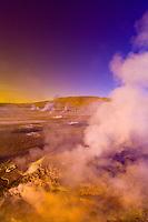 El Tatio Geyser Field, Atacama Desert, Chile