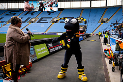 Wasps half time activation - Mandatory by-line: Robbie Stephenson/JMP - 12/10/2019 - RUGBY - Ricoh Arena - Coventry, England - Wasps v Worcester Warriors - Premiership Rugby Cup