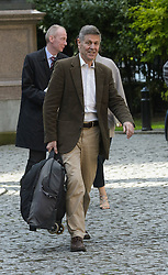 Matthew Parris arrives for the wedding of Wikipedia founder Jimmy Wales to Tony Blair's former diary secretary, Kate Garvey at Wesley's Chapel, City of  London, October 6, 2012. Photo by Fiona Hanson / i-Images.
