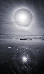 Parahelion, Antarctica