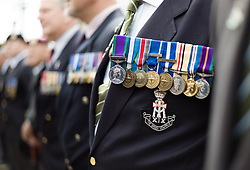 © Licensed to London News Pictures. 30/06/2012..Redcar, England..Veterans and cadets march through Redcar in Cleveland today as they take part in a parade to mark Armed Forces Day...Photo credit : Ian Forsyth/LNP
