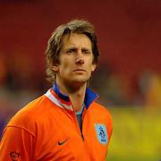 NLD/Amsterdam/20060301 - Voetbal, oefenwedstrijd Nederland - Ecuador, Edwin van der Sar