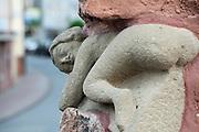Buchener Blecker, Wahrzeichen von Buchen, Stadt Buchen, Odenwald, Naturpark Bergstraße-Odenwald, Baden-Württemberg, Deutschland | Buchener Blecker, Buchen, Odenwald, Baden-Wuerttemberg Germany