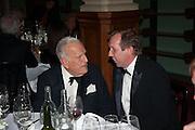 SIR JOHN RICHARDSON; DAVID DAWSON, The London Library Annual  Life in Literature Award 2013 sponsored by Heywood Hill. The London Library Annual Literary dinner. London Library. St. james's Sq. London. 16 May 2013.