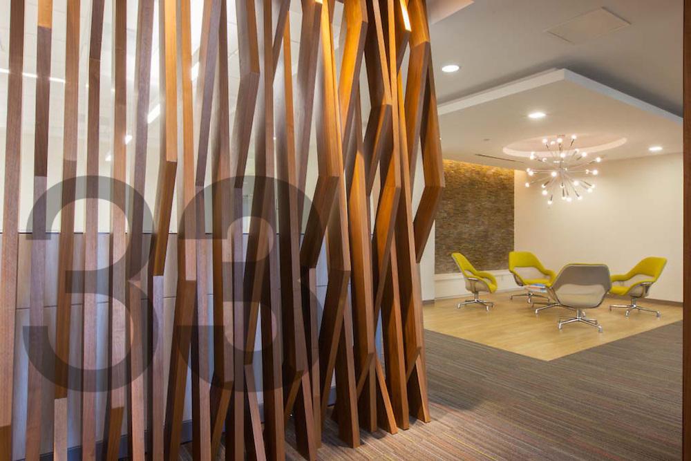 El despacho de arquitectos zva dise o y ejecut los for Despachos de diseno de interiores