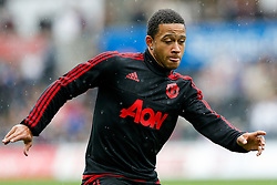 Memphis Depay of Manchester United - Mandatory byline: Rogan Thomson/JMP - 07966 386802 - 30/08/2015 - FOOTBALL - Liberty Stadium - Swansea, Wales - Swansea City v Manchester United - Barclays Premier League.