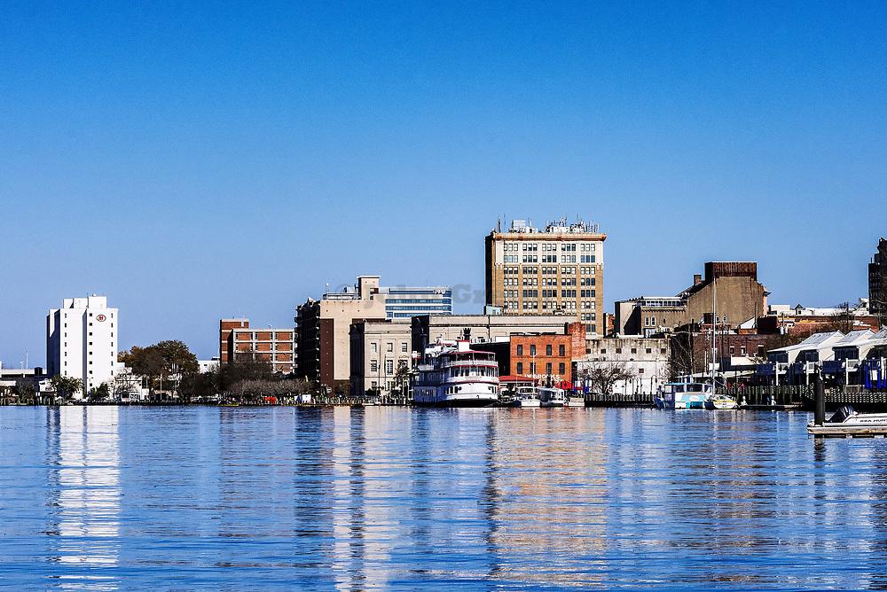 Wilmington skyline, North Carolina, USA.