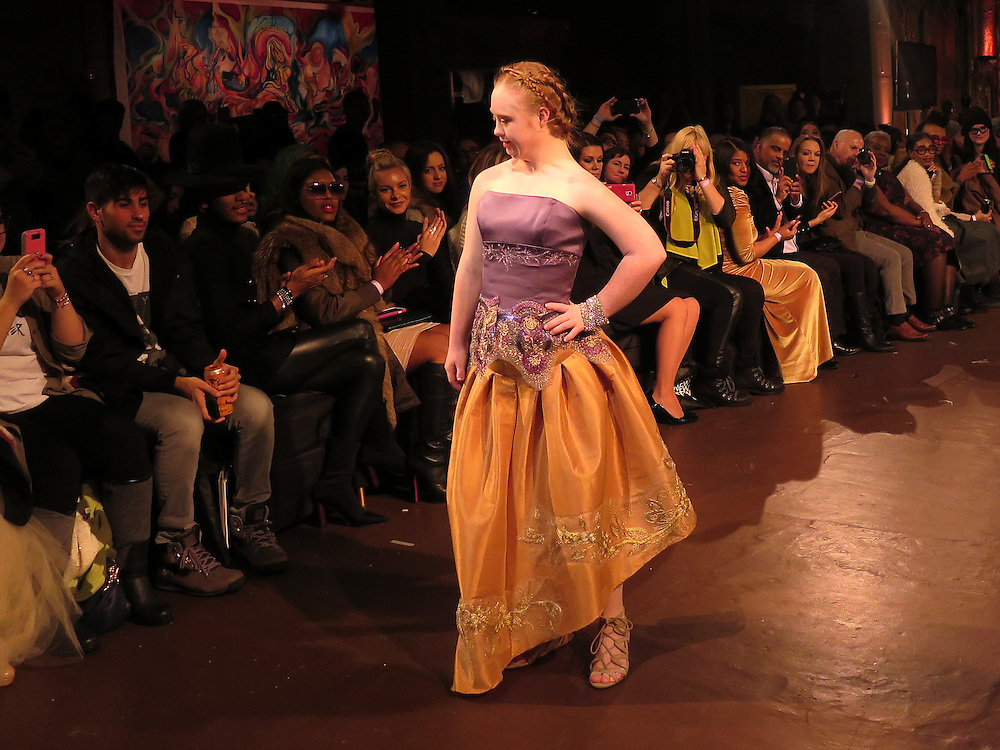 Madeline Stuart/ New York Fashion Week<br /> &copy;Meredith Arout/Life-Wire News Service<br /> Only Editorial