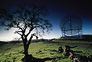 Radio Telescopes. Near Stanford University, Palo Alto, California. (1997)