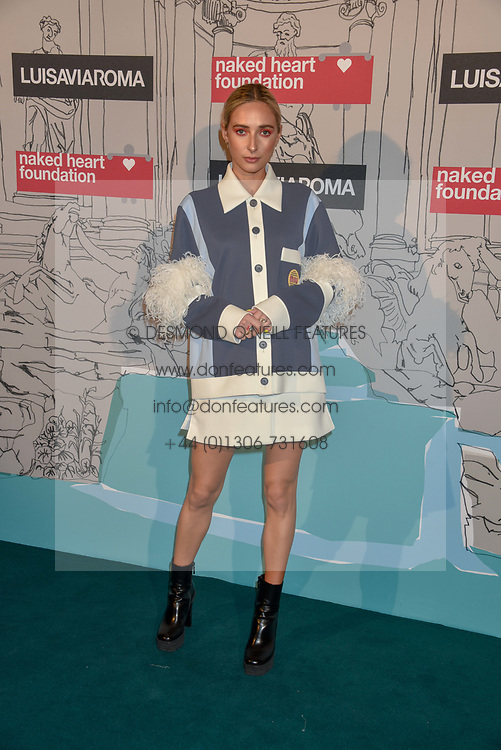 Rachel McDowall at the Fabulous Fund Fair in aid of Natalia Vodianova's Naked Heart Foundation in association with Luisaviaroma held at The Round House, Camden, London England. 18 February 2019.