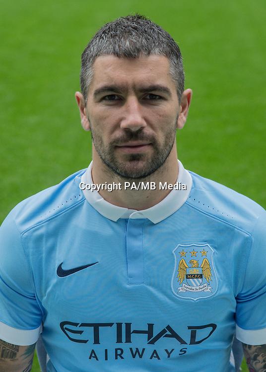 Manchester City's Aleksandar Kolarov