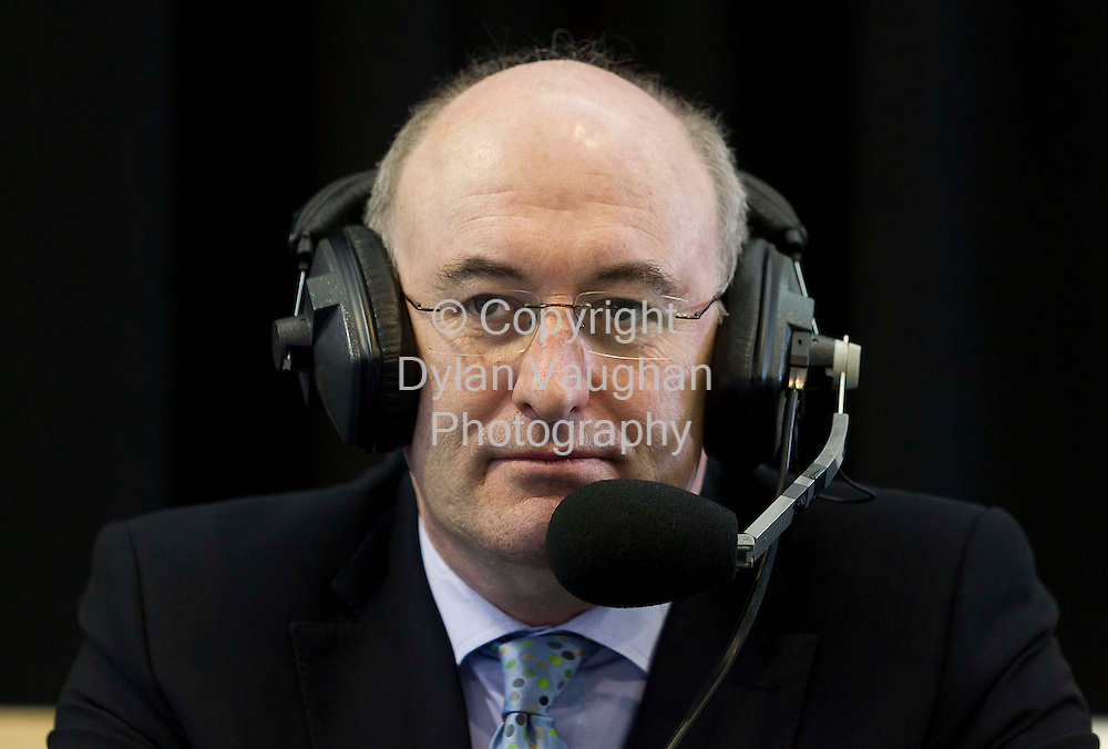 27/2/2011.Phil Hogan Fine Gael pictured at the count centre at Cillin Hill Kilkenny for the Carlow Kilkenny vote..Picture Dylan Vaughan.....