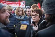 Siemens protest, Berlin 11.12.17