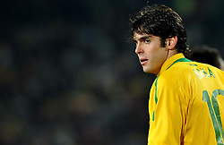 28.06.2010, Ellis Park Stadium, Johannesburg, RSA, FIFA WM 2010, Brazil (BRA) vs Chile. (CHI), im Bild Kaka (Brasile). EXPA Pictures © 2010, PhotoCredit: EXPA/ InsideFoto/ Giorgio Perottino +++ for Austria and Slovenia only +++ / SPORTIDA PHOTO AGENCY