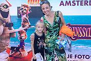2018, 15 Juli. Pathe ArenA, Amsterdam. Premiere van Hotel Transsylvanie 3. Op de foto: Isabelle Brinkman