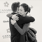 2016 Canada's Walk of Fame Inductee Jason Priestley and Presenter Tatiana Maslany