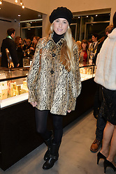 FLORENCE ST.GEORGE at a party to celebrate the launch of the Monica Vinader London Flagship store at 71-72 Duke of York Square, London SW3 on 4th December 2014.