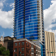 110 Superior residential highrise in Chicago at Superior between Clark and Lassalle Streets, 110 West Superior, 60654