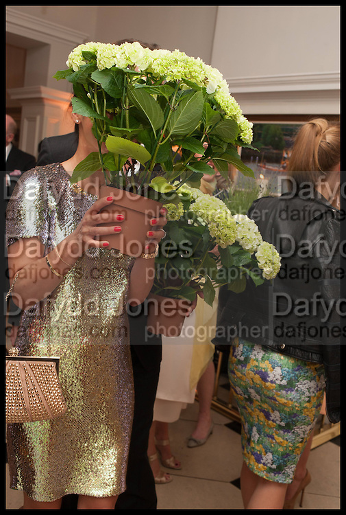LOHRALEE ASTOR; , Cartier dinner in celebration of the Chelsea Flower Show. The Palm Court at the Hurlingham Club, London. 19 May 2014.