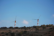 Israel, Golan Heights, Wind generator