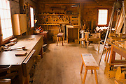 Carpenter shop, Fort Vancouver National Historic Site, Vancouver, Washington
