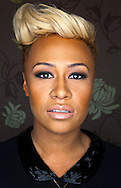 03:04:2012.Studio shoot - Scots singer/songwriter Emeli Sande.. ..Pic:Andy Barr.07974 923919  (mobile).andy_snap@mac.com.All pictures copyright Andrew Barr Photography. .Please contact before any syndication. .