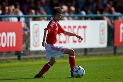 NEWPORT, WALES - Wednesday, July 25, 2018: Daniel Morris during the Welsh Football Trust Cymru Cup 2018 at Dragon Park. (Pic by Paul Greenwood/Propaganda)