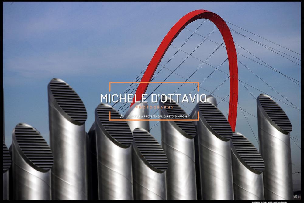 Torino architettura olimpica..Arco olimpico..