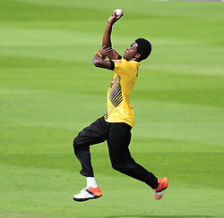 Jofra Archer of Sussex in action.  - Mandatory by-line: Alex Davidson/JMP - 30/07/2016 - CRICKET - Cooper Associates County Ground - Taunton, United Kingdom - Somerset v Sussex - Royal London One Day
