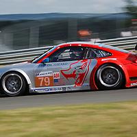 #79 Porsche 997 GT3-RSR, GTE Am, Flying Lizard Motorsports Drivers: Seth Neiman, Spencer Pumpelly, Patrick Pilet, Le Mans 2012