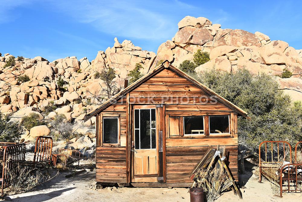 Old Cabin at Keys Ranch Joshua Tree National Park