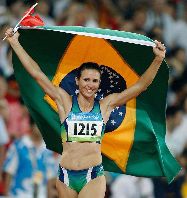 2008 Beijing Olympic Games- August 22nd, 2008 - Evening *** HIga Maggi, Brazil long jump, lj *** Day 8