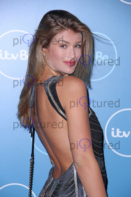 Amy Willerton, ITVBe - Launch Party, ITV Studios Southbank, London UK, 07 October 2014, Photo By Brett D. Cove