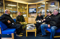 Pictured: Chief pilot of the Civil Air Patrol Scotland, Archie Liggat led the team through the training exercise so that everybody know their role. Safety is paramount so full attention is required.<br /> <br /> Scottish Liberal Democrat leader Willie Rennie took to the skies as he joined the UK Civil Air Patrol for a training flight in Perth. Mr Rennie took the opportunity to set out Liberal Democrat plans to restore local accountability and decision making within Police Scotland. The UK Civil Air Patrol provides airborne assistance for agencies, groups or individuals who would otherwise not have access to such a facility.  Until 2013 the service regularly assisted Police officers with air searches in missing person cases. This ended following the creation of Police Scotland.  <br /> Ger Harley | EEm 12 April 2016