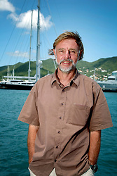 06 April 2011. St Maarten, Antilles, Caribbean.<br /> David Hildred, sailing master and British Virgin Islands resident.<br /> After more than 9 weeks at sea, having started in the Canary islands, captain of the 'Antiki' transatlantic raft  arrives in St Maarten in the Caribbean following an epic voyage. The incredible vessel is crewed by Anthony Smith (84 yrs old) British adventurer, David Hildred, sailing master and British Virgin Islands resident, Dr Andrew Bainbridge of Alberta, Canada and John Russell, solicitor and UK resident.<br /> Photo; Charlie Varley/varleypix.com