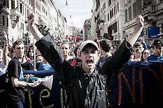 Manifestazione Studenti - Roma 12.10.12