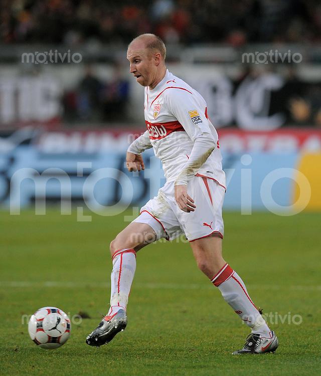 Fussball 1. Bundesliga :  Saison   2009/2010   15. Spieltag   05.12.2009 VfB Stuttgart - VfL Bochum  Ludovic Magnin (VfB) am Ball
