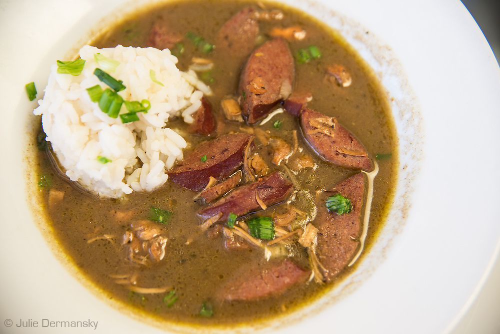 Red Beans and Rice at Cafe Reconcile. Cafe Reconcile in New Orleans is a restaurant where job training is given to  young people from  impoverished communities  giving them a chance to have a career in the restaurant business.