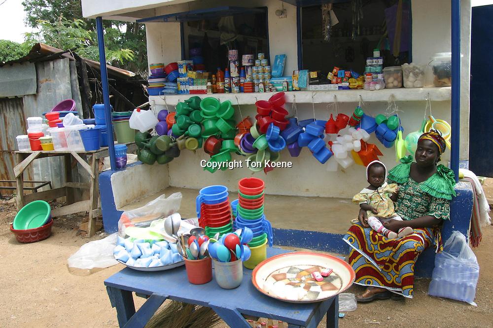 market in lagod, nigeria