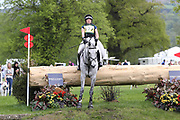 Charlotte Bacon on Last Touch during the International Horse Trials at Chatsworth, Bakewell, United Kingdom on 13 May 2018. Picture by George Franks.