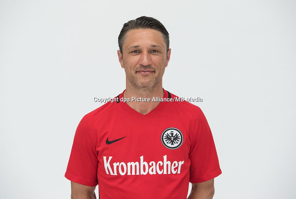 German Bundesliga - Season 2016/17 - Photocall Eintracht Frankfurt on 21 June 2016 in Frankfurt, Germany: Head-coach Niko Kovac. Photo: Handout/Eintracht Frankfurt/Hübner/dpa | usage worldwide