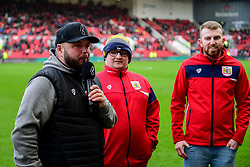 Ian Reed-Downs during the Dunder Challenge  - Mandatory by-line: Ryan Hiscott/JMP - 22/02/2020 - FOOTBALL - Ashton Gate - Bristol, England - Bristol City v West Bromwich Albion - Sky Bet Championship