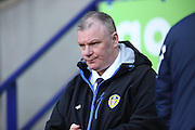 Leeds United manager Steve Evans during the The FA Cup fourth round match between Bolton Wanderers and Leeds United at the Macron Stadium, Bolton, England on 30 January 2016. Photo by Simon Brady.