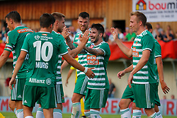 21.07.2019, Sportplatz, Allerheiligen bei Wildon, AUT, OeFB Uniqa Cup, USV Allerheiligen vs SK Rapid Wien, 1. Runde, im Bild Jubel bei Rapid // Celebration of Rapid during the ÖFB Uniqa Cup, 1st round match between USV Allerheiligen and SK Rapid Wien at the Sportplatz in Allerheiligen bei Wildon, Austria on 2019/07/21. EXPA Pictures © 2019, PhotoCredit: EXPA/ Erwin Scheriau